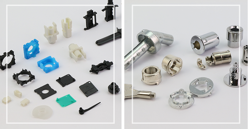 鋅合金壓鑄+塑膠射出成型