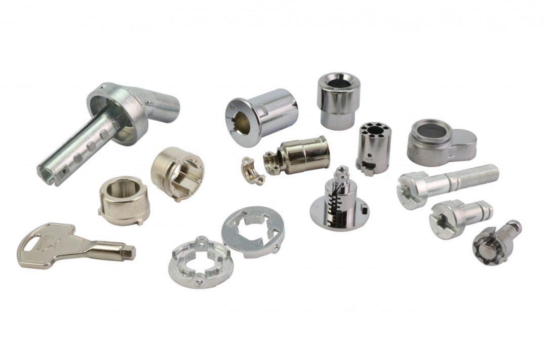 zinc die casting lock parts